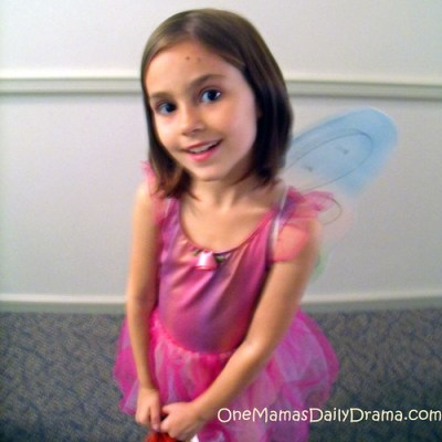 Last minute costume: fairy princess | One Mama's Daily Drama