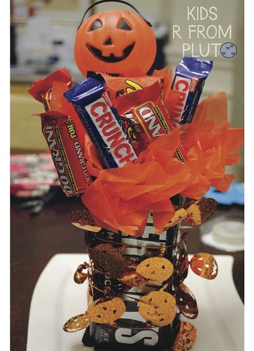 Halloween Candy Bouquet-11