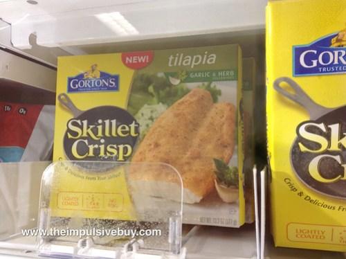 Gorton's Tilapia Skillet Crisp