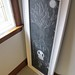 chalkboard drawing for halloween