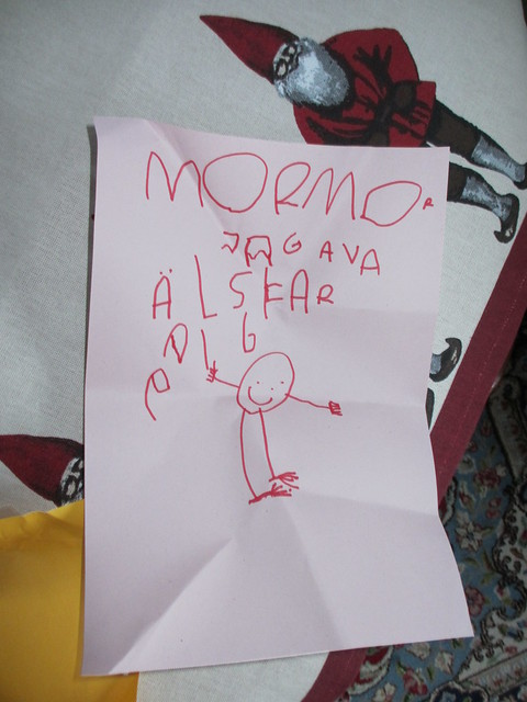 Avas brev till mormor