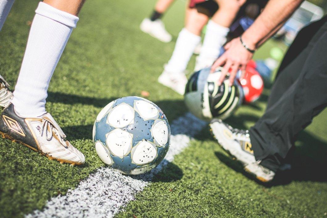 Imagen gratis de un entrenamiento de futbol
