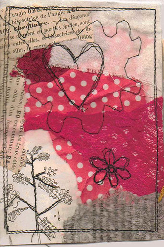 mini collage heart