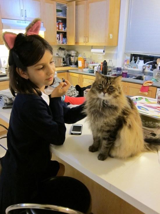 Cat Sym + Cat Claire