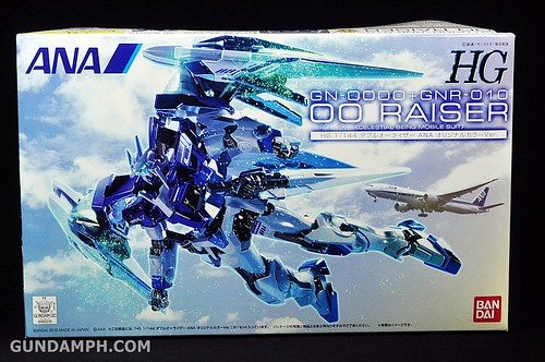 ANA 00 Raiser Gundam HG 1-144 G30th Limited Kit OOTB Unboxing Review (1)