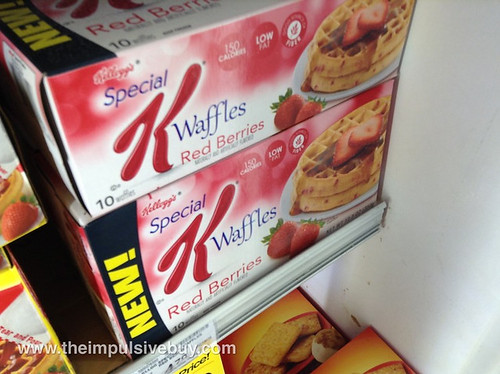 Special K Red Berries Waffles (2013)