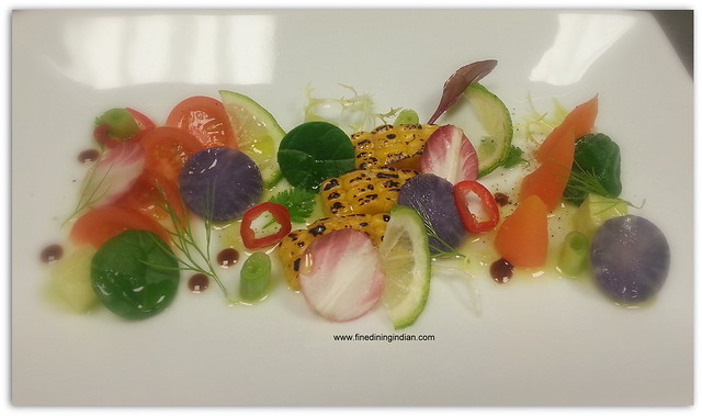finediningindian seasonal salad from sofitel london