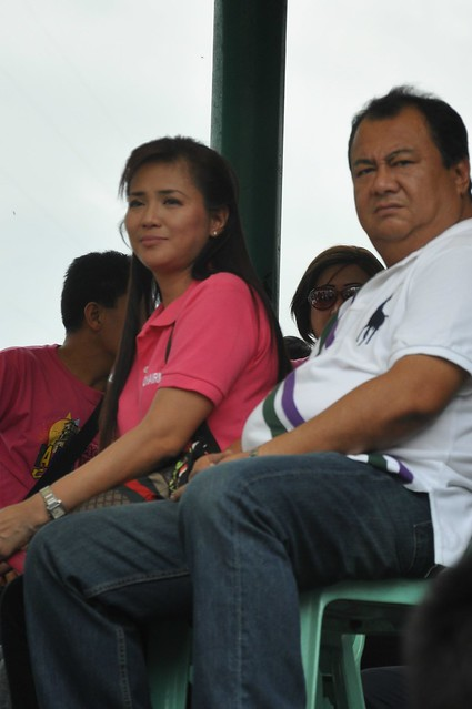 Mayor and Mrs. Michael V. Farinas