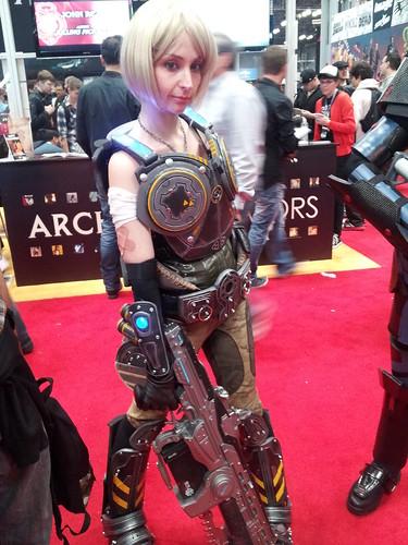 Zadra as Anya (Gears of War 3)