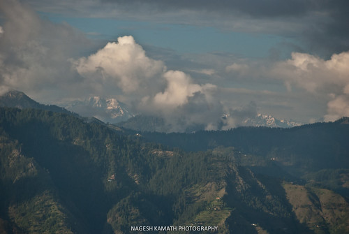 View of HImalayan peaks