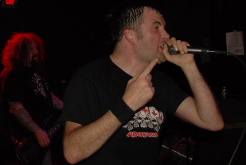 Barney Greenway of Napalm Death