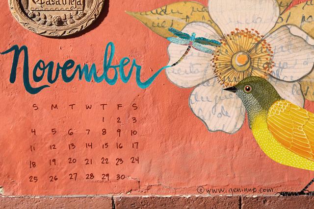 November desktop calendar_lo