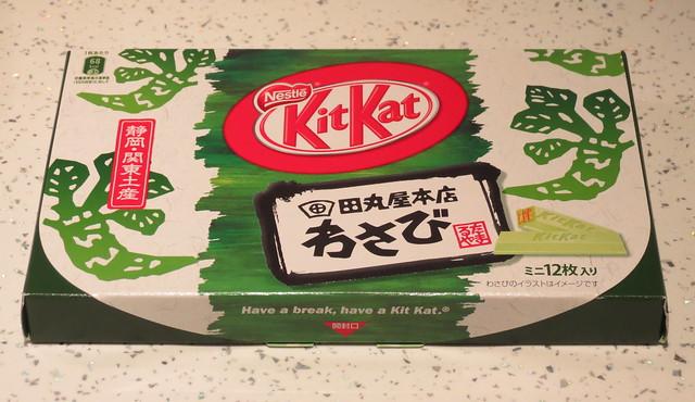 わさび (Wasabi) Kit Kats, Shizuoka (Japan)