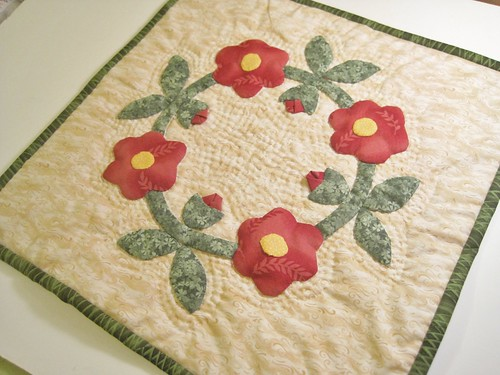 Hand Applique...finished at last!