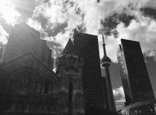 Downtown Toronto.
