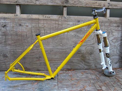 29er frameset by huntercycles