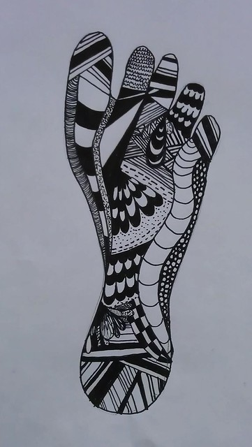 Zentangle foor