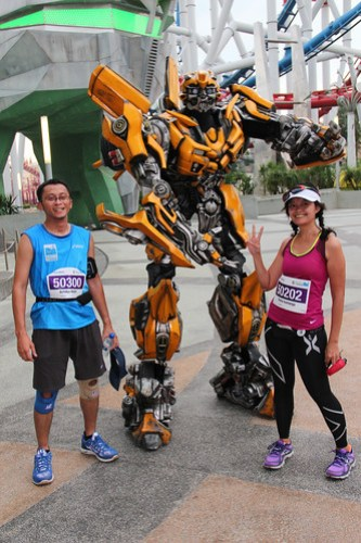 with bumblebee :)