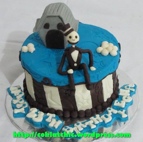 Cake Nightmare before Christmas