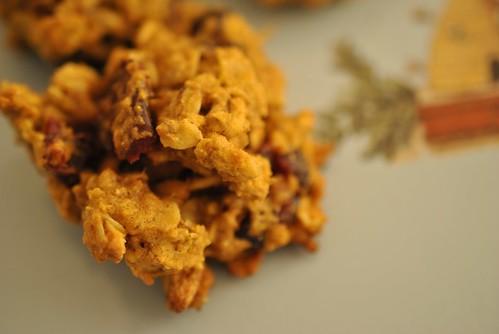 Oatmeal Pumpkin Cranberry Pecan Cookies