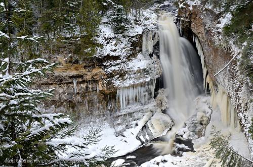 Winter at Miners Falls