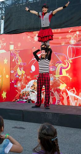 circo delanube acrobacias