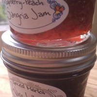 Homemade Holidays #5: Raspberry-Peach Sangria Jam