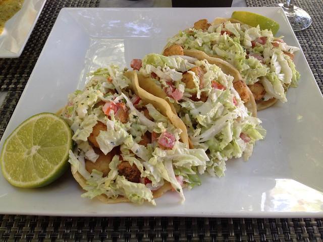 Crispy fish tacos - Circa 59