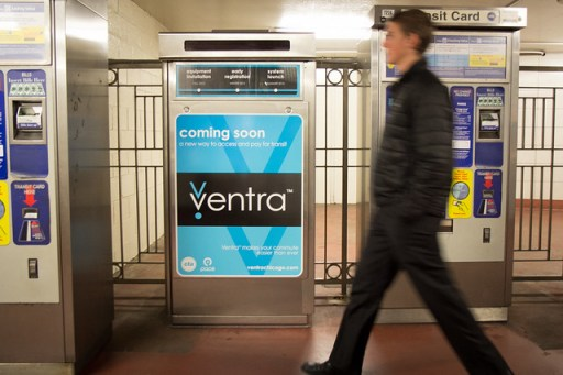 ventra cta pace fare machine