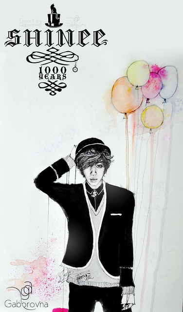 1000 years shinee fanart
