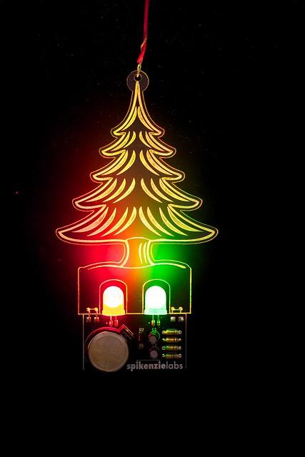Blinky Holiday Ornament.
