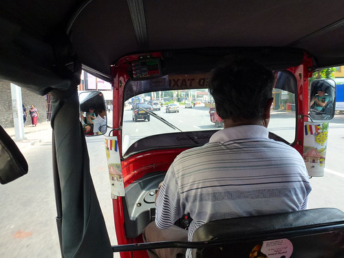 Tuktuk ride, Colombo