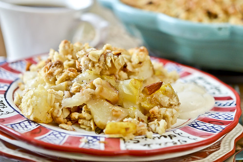 Apple & Pear Breakfast Crisp