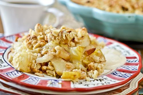 Apple & Pear Breakfast Crisp 2