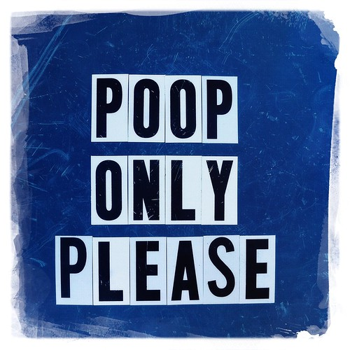 poop only please