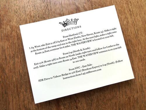 Enclosure Card - Kate And Wills