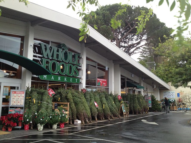 Noe Valley Whole Foods Christmas trees