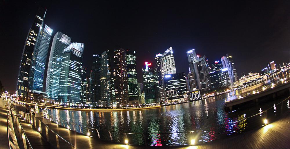 Marina Bay Singapore Skyline