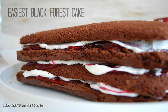 easiest black forest cake recipe