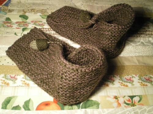 Tricot facile - Grand Thé pour Chaussons Kimono (3/3)