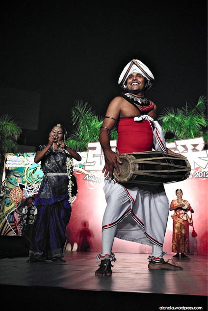 The Percussionist - Asian Ethnic Performance 2012