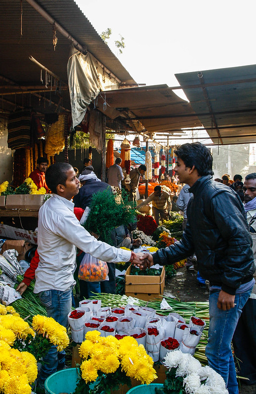 Mehrauli Flower Market_MG_2590November 19, 2012