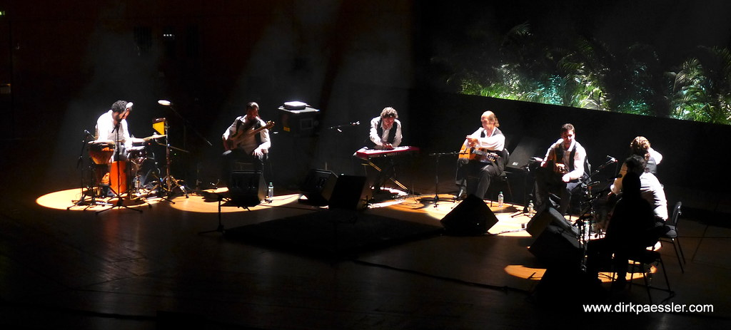 Paco De Lucia and Band by Dirk Paessler