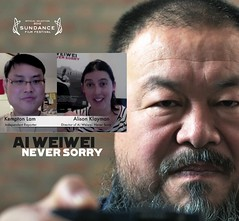 Alison Never Sorry interview - Youtube thumbnail composite