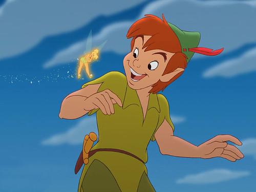 Peter Pan & Clochette
