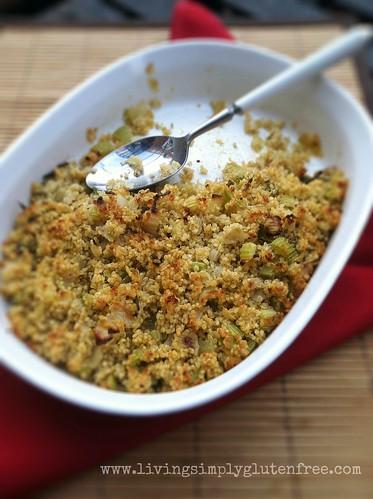 Quinoa Sage Stuffing - Gluten-free + Vegan