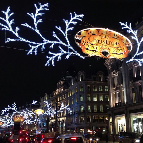 #regentsstreet #christmas #lights #london