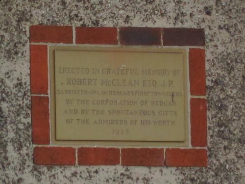 Robert McClean, Laburnum Road, Redcar