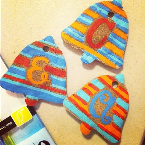 painted #cinnamon #diyornaments #artsandcrafts #christmas