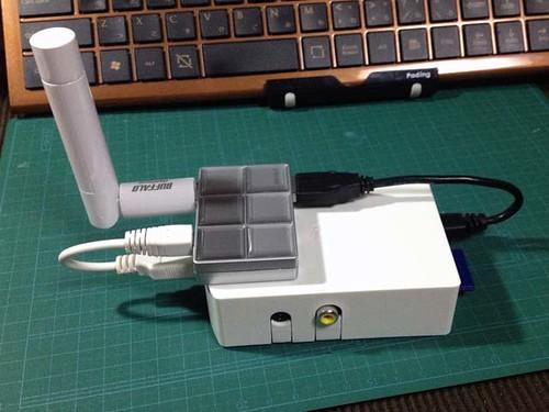 20121219:Raspberry Piをカメラサーバにする #03 配線編